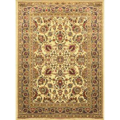 Royalty Ivory 8 ft. x 10 ft. Indoor Area Rug