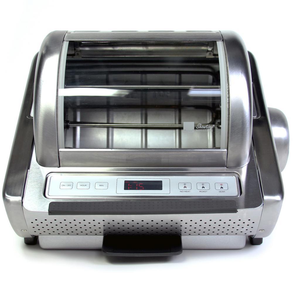 EZ-Store 7.5 Qt. Stainless Steel Rotisserie Oven