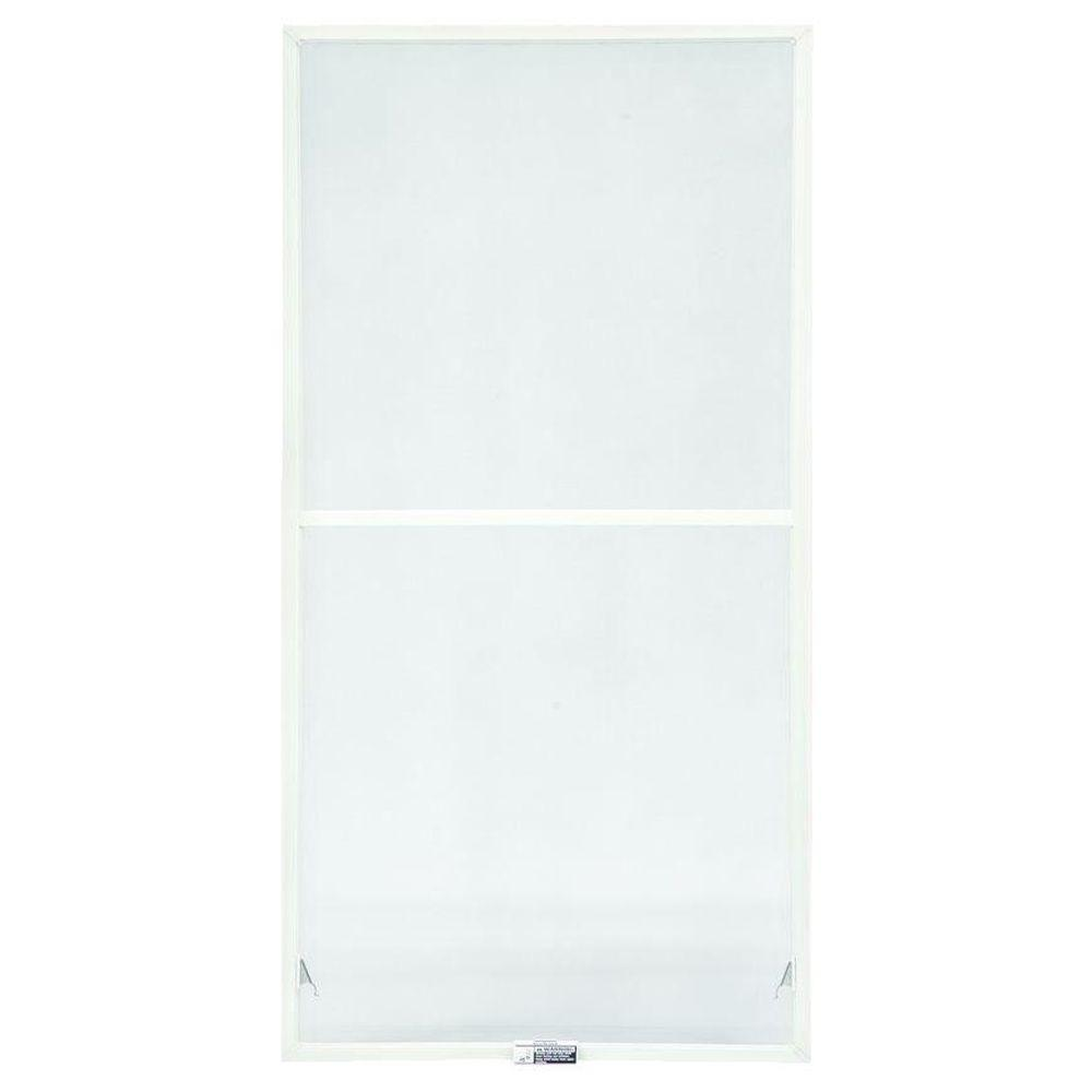 TruScene 27-7/8 in. x 62-27/32 in. White Double-Hung Insect Screen