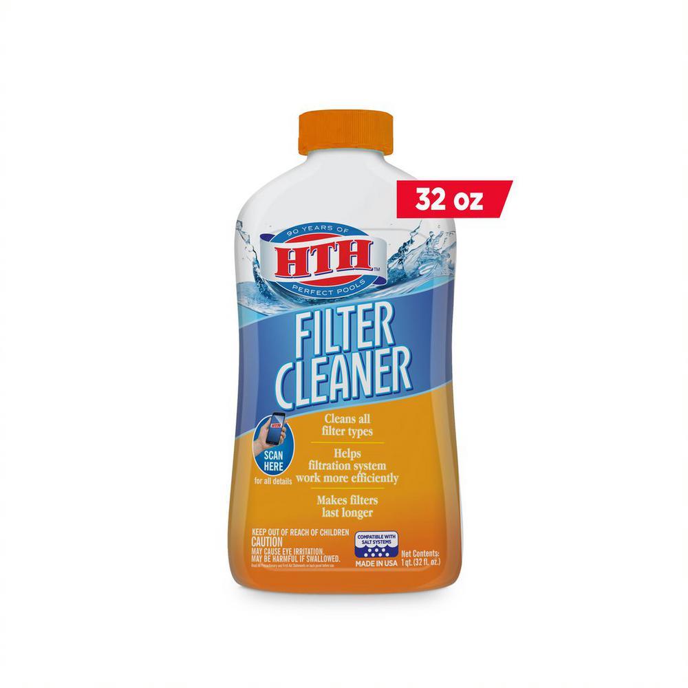 1 Qt. Filter Cleaner Pool Balancer