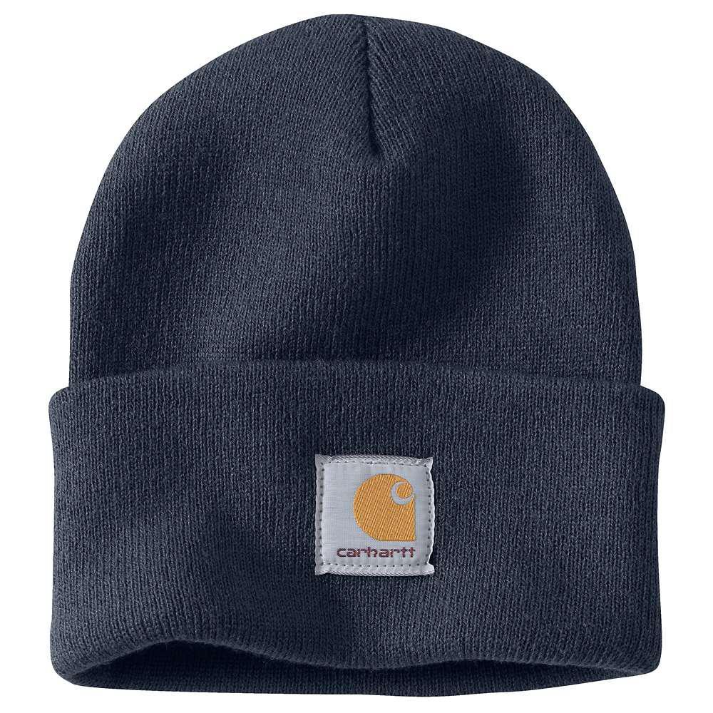 Carhartt Men's OFA Navy Acrylic Hat Headwear