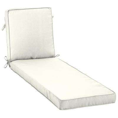 sunbrella chaise lounge cushions Welted   Sunbrella   Canvas White   Chaise Lounge Cushions  sunbrella chaise lounge cushions