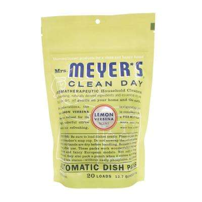 12.7 oz. Lemon Verbena Automatic Dishwasher Packs