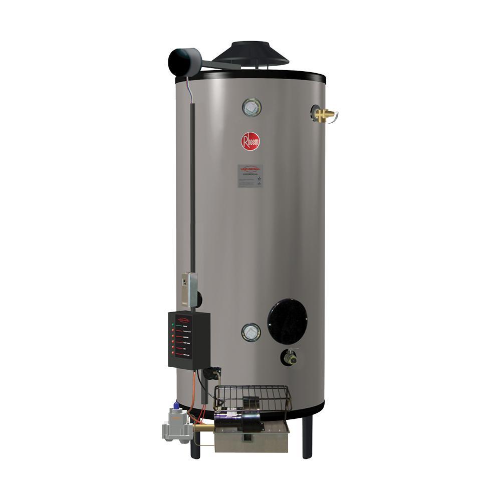 100 Gal. 270K BTU Commercial Universal Heavy-Duty Low NOx (LN) Natural Gas ASME Tank Water Heater