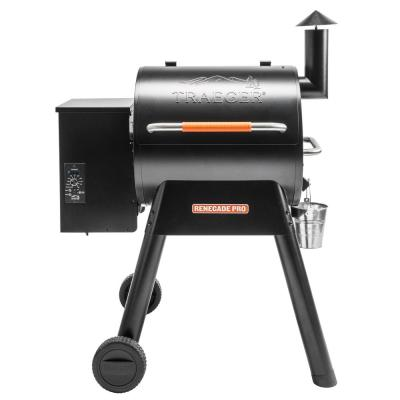 Traeger Renegade Pro Wood Pellet Grill and Smoker in Black