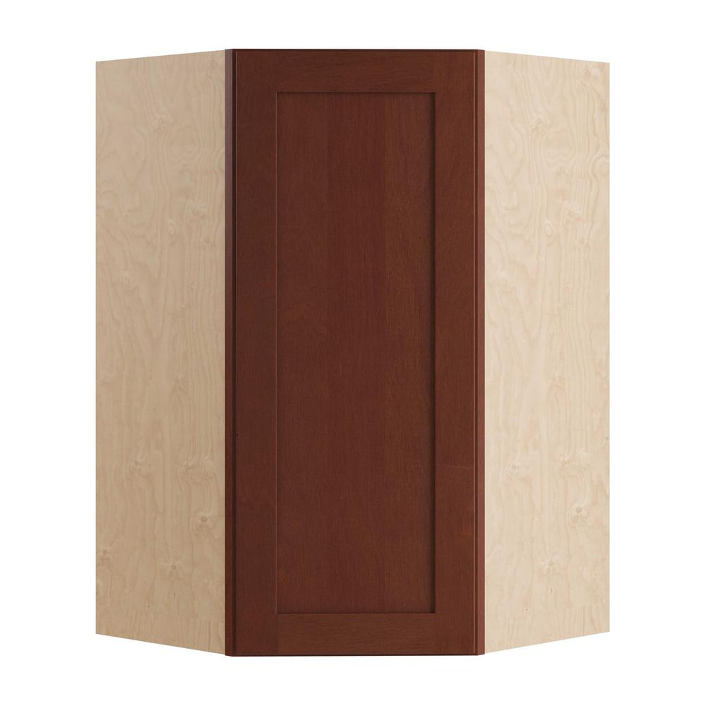 Home Decorators Collection Kingsbridge Assembled 27x42x15 In Single Door Hinge Right Wall
