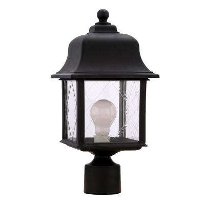 Spyglass Black Outdoor Post-Top Light