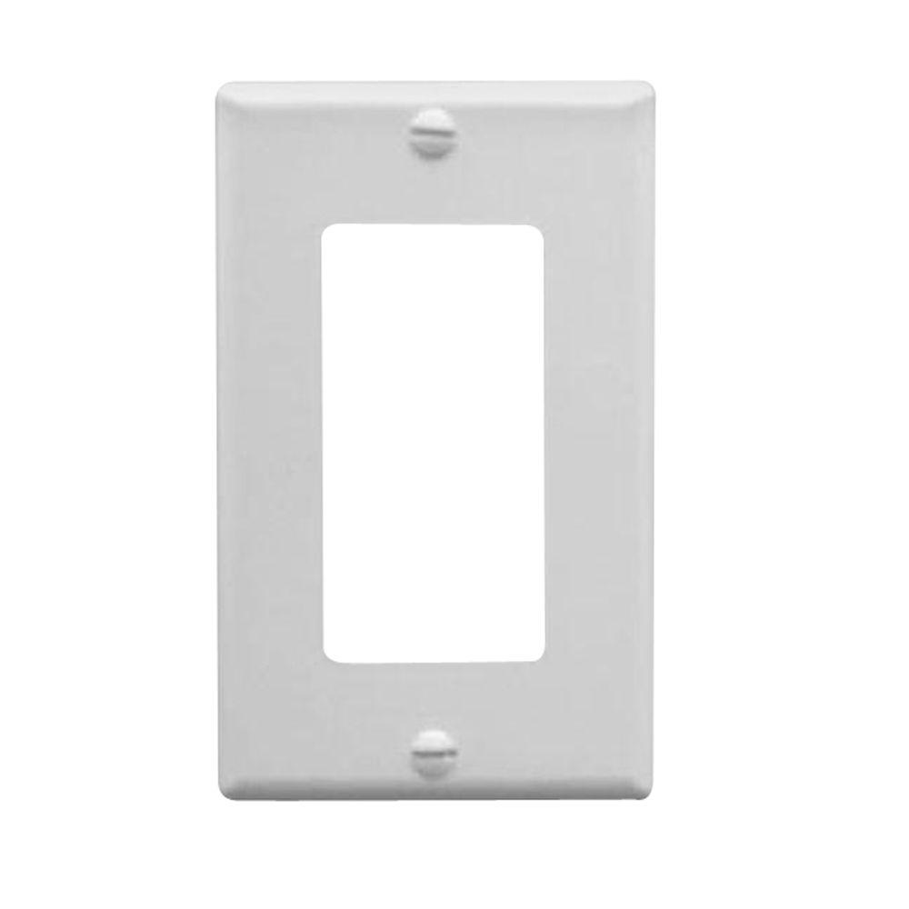 ICC 1 Gang Wall Switch Plate - Ivory