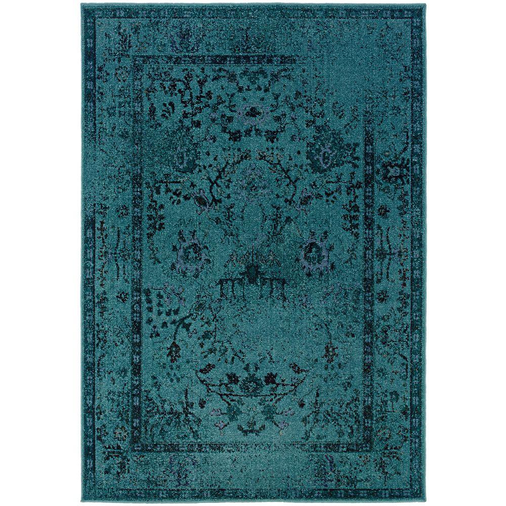 Home Decorators Collection Overdye Teal 7 Ft 10 In X Area Rug C3251a240305hd The Depot