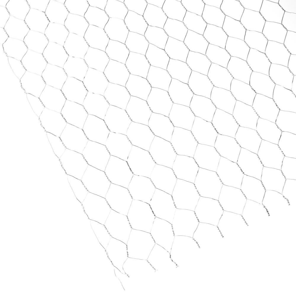 36 in. x 150 ft. 20-Gauge Steel Plain Stucco Netting