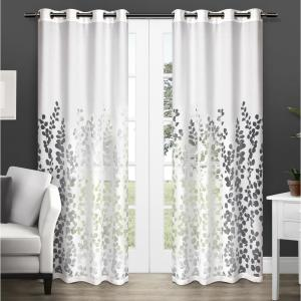 Sheer Grommet Window Curtain Panels