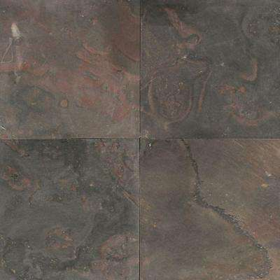 Natural Stone Collection Indian Multicolor 12 in. x 12 in. Slate Floor and Wall Tile (10 sq. ft. / case)