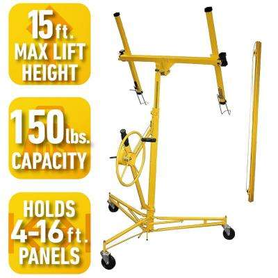 11 ft. Drywall Hoist with 6 ft. Extension Combo