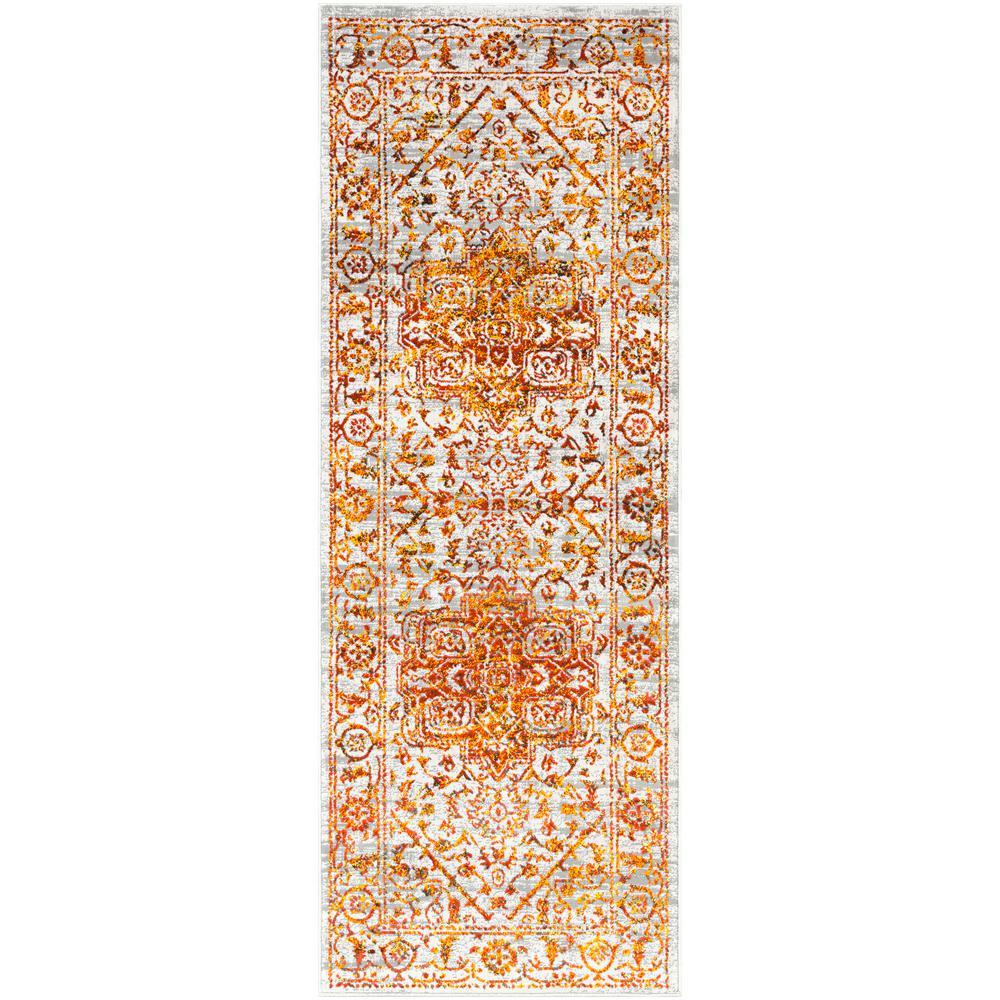 Everest Saffron 2 ft. 7 in. x 7 ft. 3 in. Oriental Runner Rug