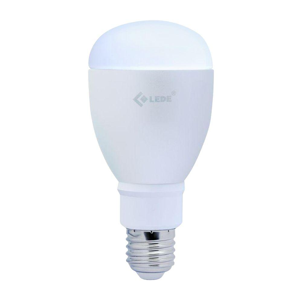 60W Equivalent Color-Adjusting A19 Dimmable Bluetooth LED Light Bulb