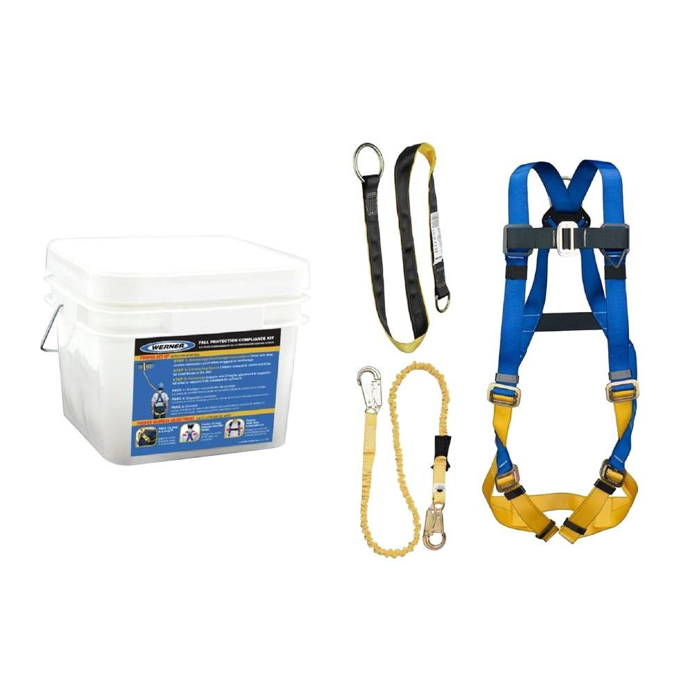WERNER UpGear Tongue Buckle Harness Construction/Maintenance Kit