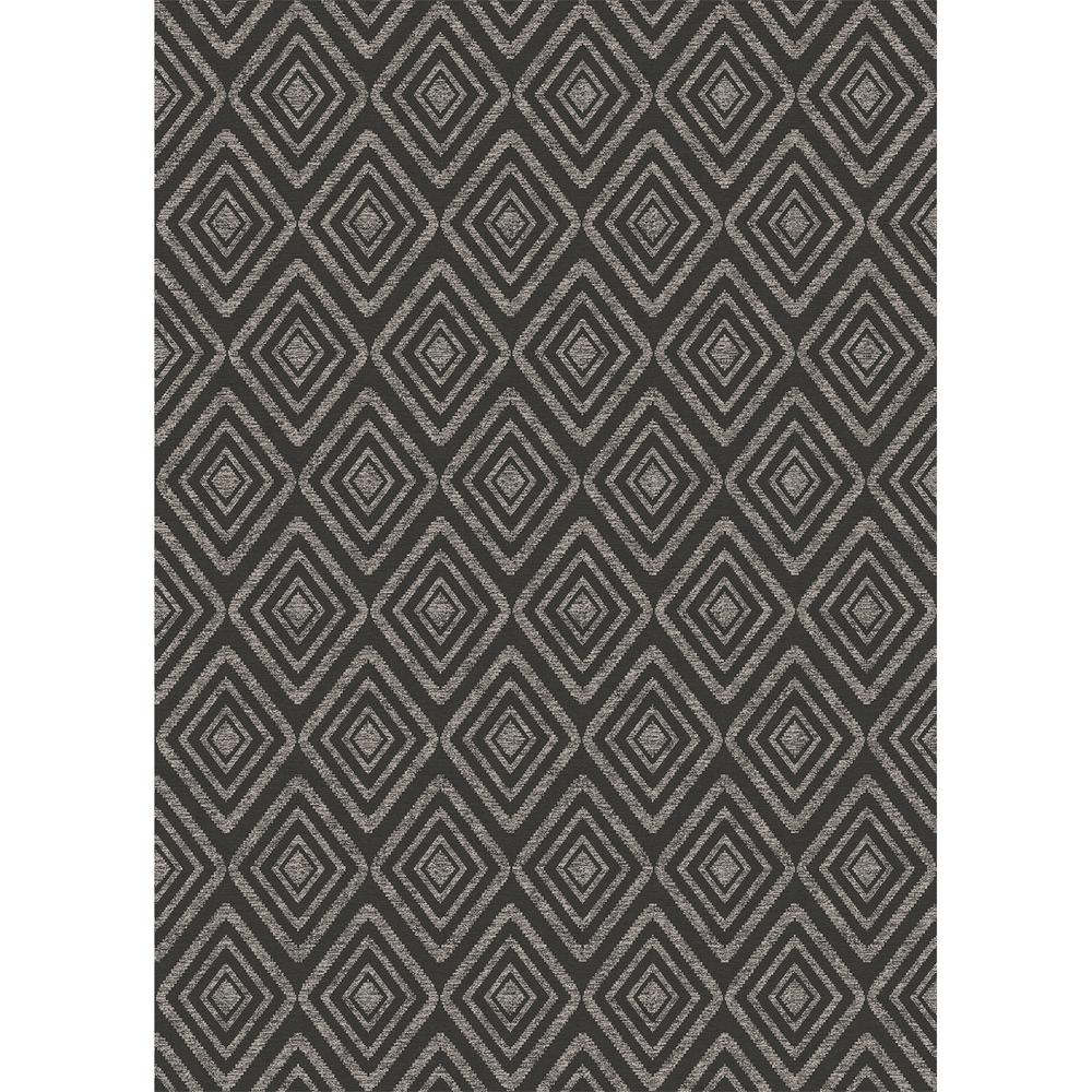 Ruggable Washable Prism Black 5 Ft X 7 Ft Stain