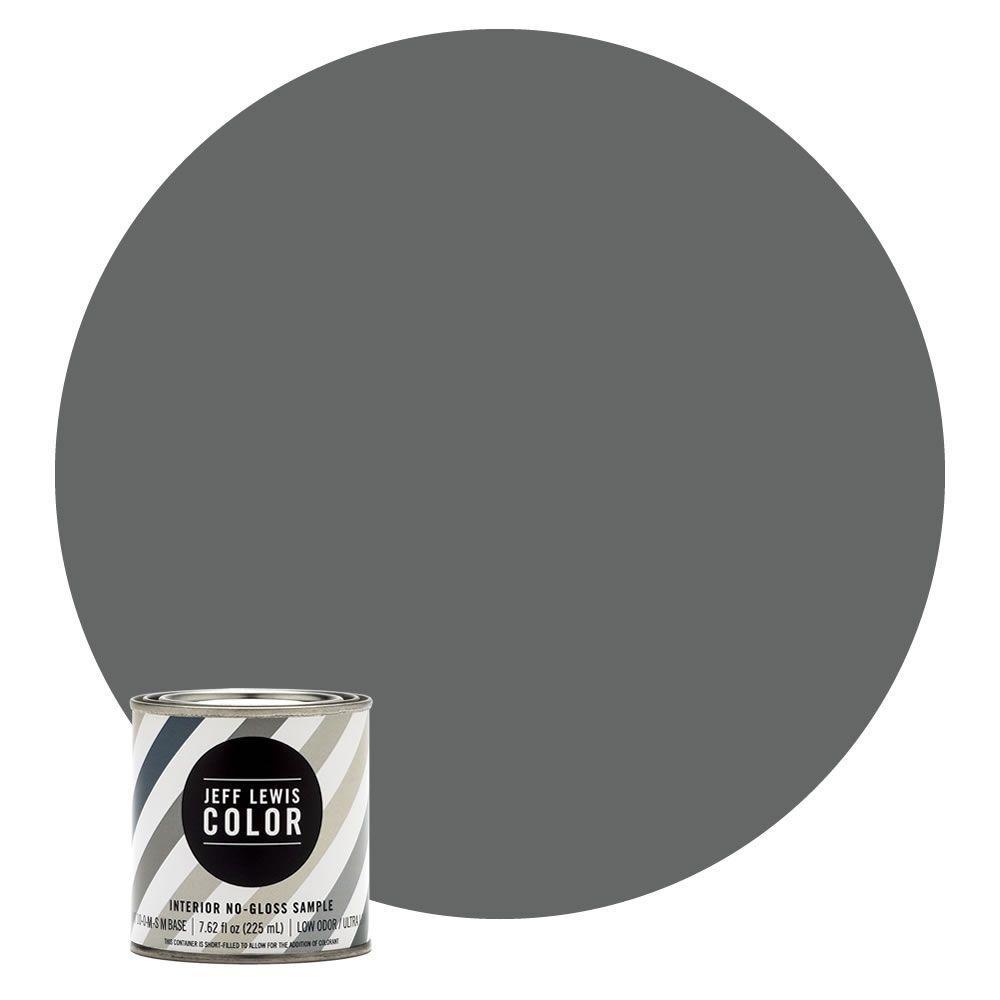 8 oz. #JLC416 Carbon No-Gloss Ultra-Low VOC Interior Paint Sample