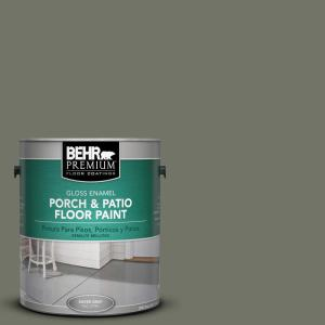 BEHR Premium 1 gal. #BXC-44 Pepper Mill Gloss Porch and Patio Floor Paint by