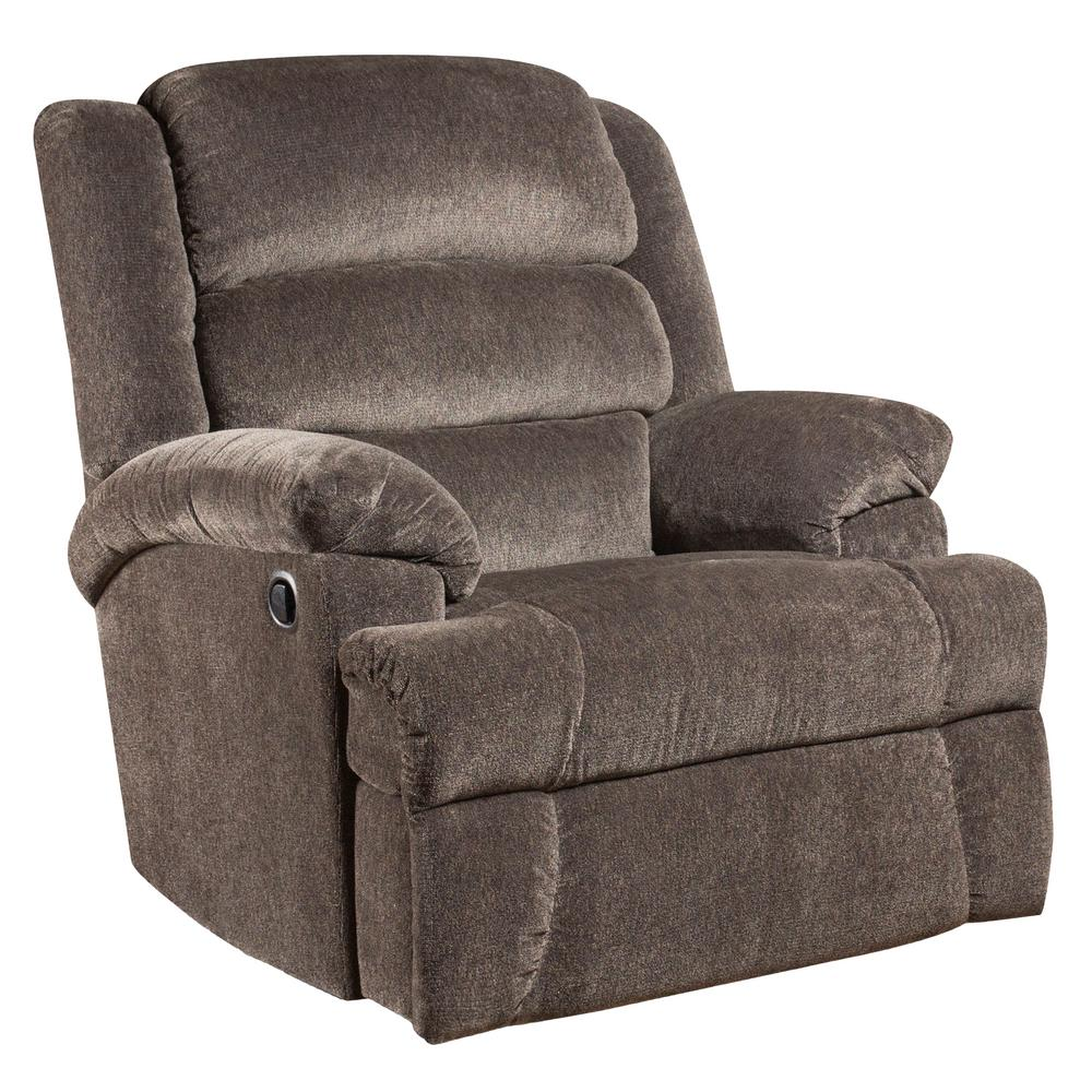 Flash Furniture Big And Tall 350 Lb Capacity Aynsley Charcoal Microfiber Recliner Am99607922