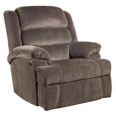 Big and Tall 350 lb. Capacity Aynsley Charcoal Microfiber Recliner