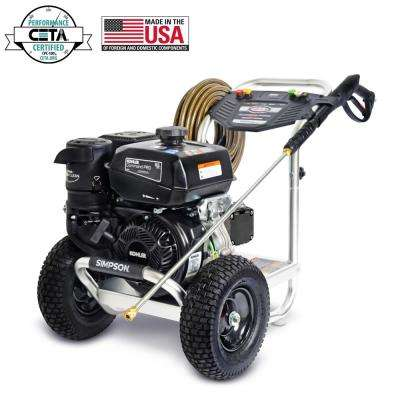Aluminum 4000 PSI at 3.5 GPM KOHLER CH395 with AAA Triplex Pump Professional Gas Pressure Washer