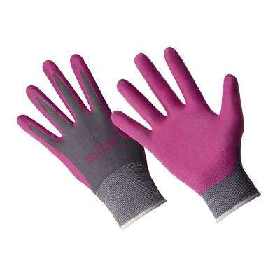 Ladies Premium Medium/Large Cabaret Nitrile Coated Gloves