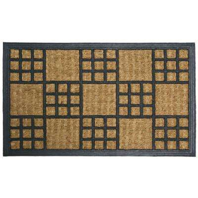 Summer in Cardiff 18 in. x 30 in. Outdoor Rubber Mat