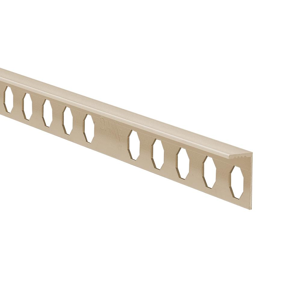 Novosuelo Beige 5/16 in. x 98-1/2 in. PVC Tile Edging Trim