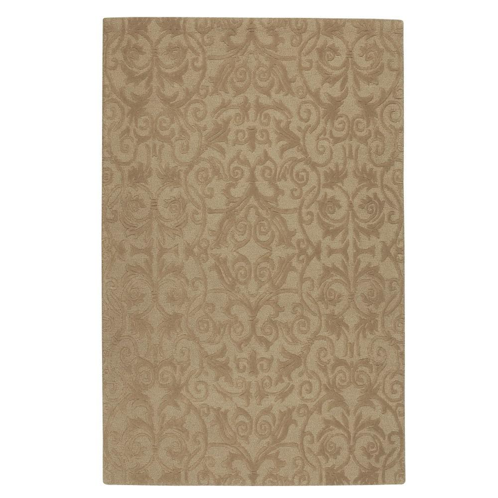 Bella Taupe 3 ft. 6 in. x 5 ft. 6 in.
