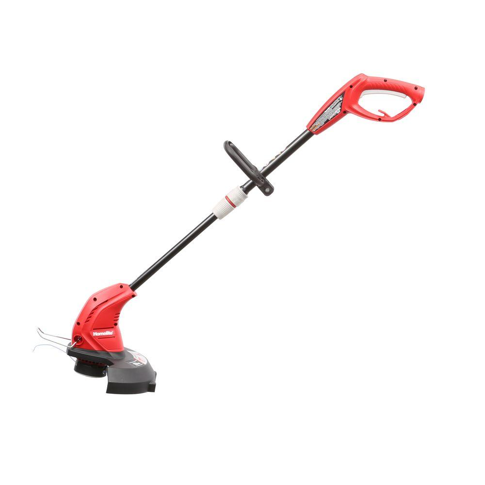 Homelite 13 In 4 Amp Straight Electric String Trimmer