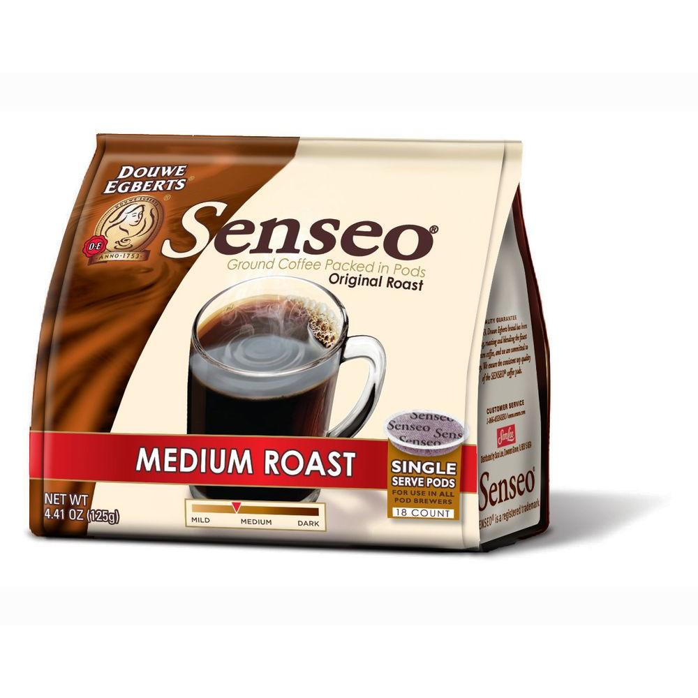 Senseo Medium Roast Coffee Pods, 108-count-DISCONTINUED