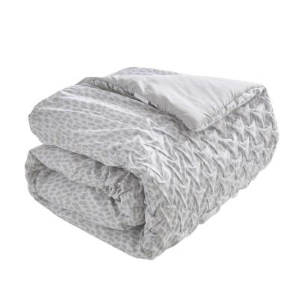 Carnival 6-Piece Taupe King Comforter Set