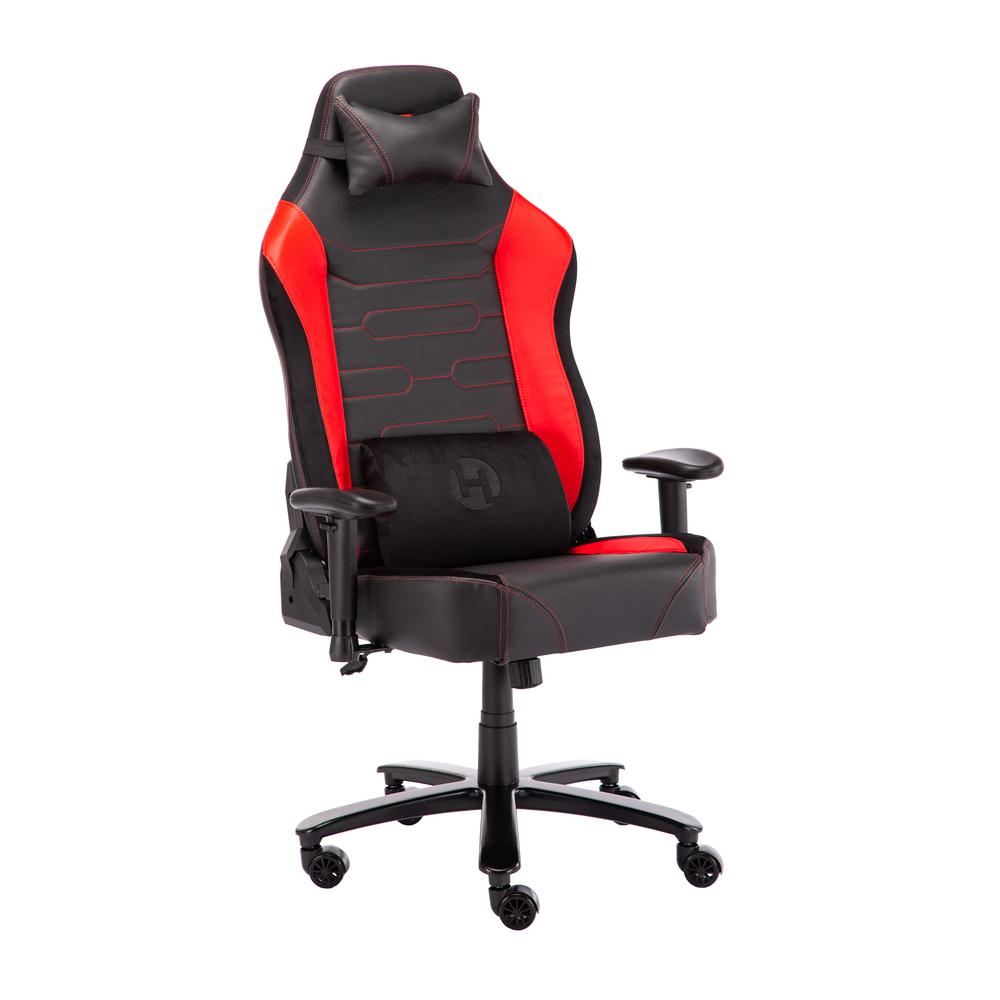 Techni Sport Red TechniSport Office-PC XXL Gaming Chair-RTA-TSXXL4-RED -  The Home Depot