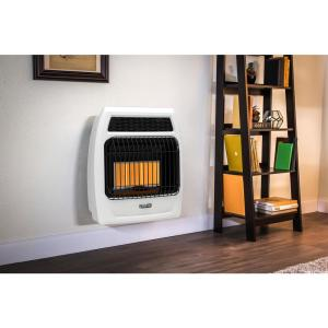 natural gas wall heater dyna glo 18 000 btu gas infrared vent free 29022