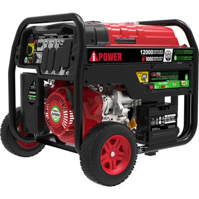 KOHLER 10500-Watt Gasoline Powered Electric Start Portable Generator