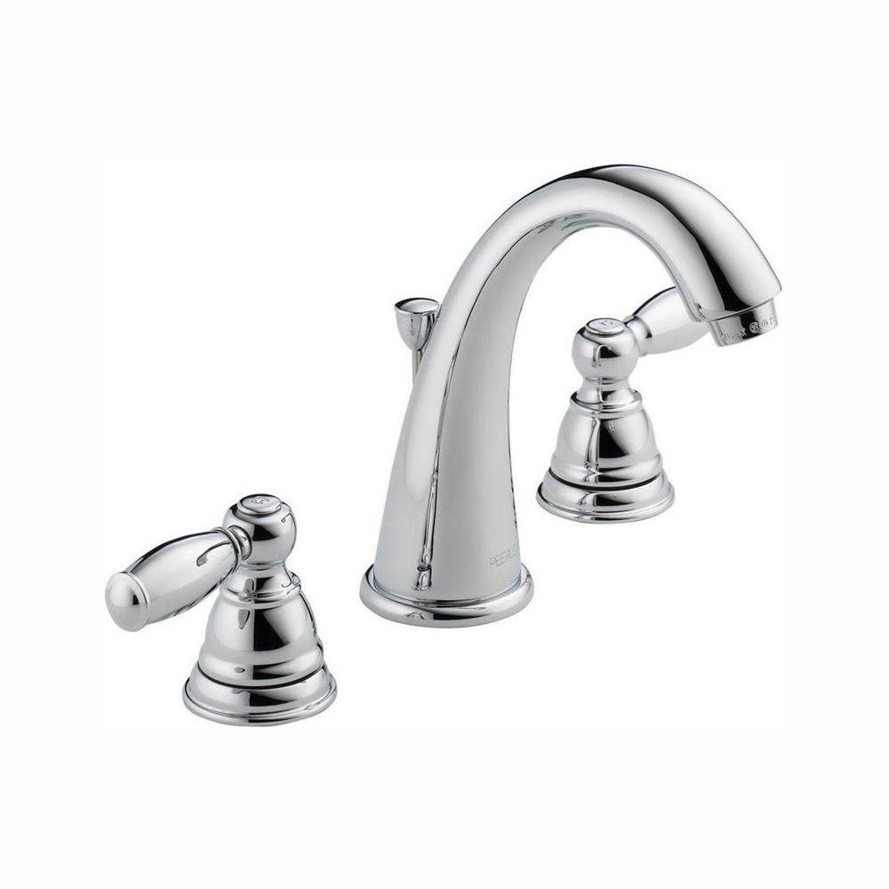 Peerless Apex 8 in. Widespread 2-Handle Bathroom Faucet in Chrome