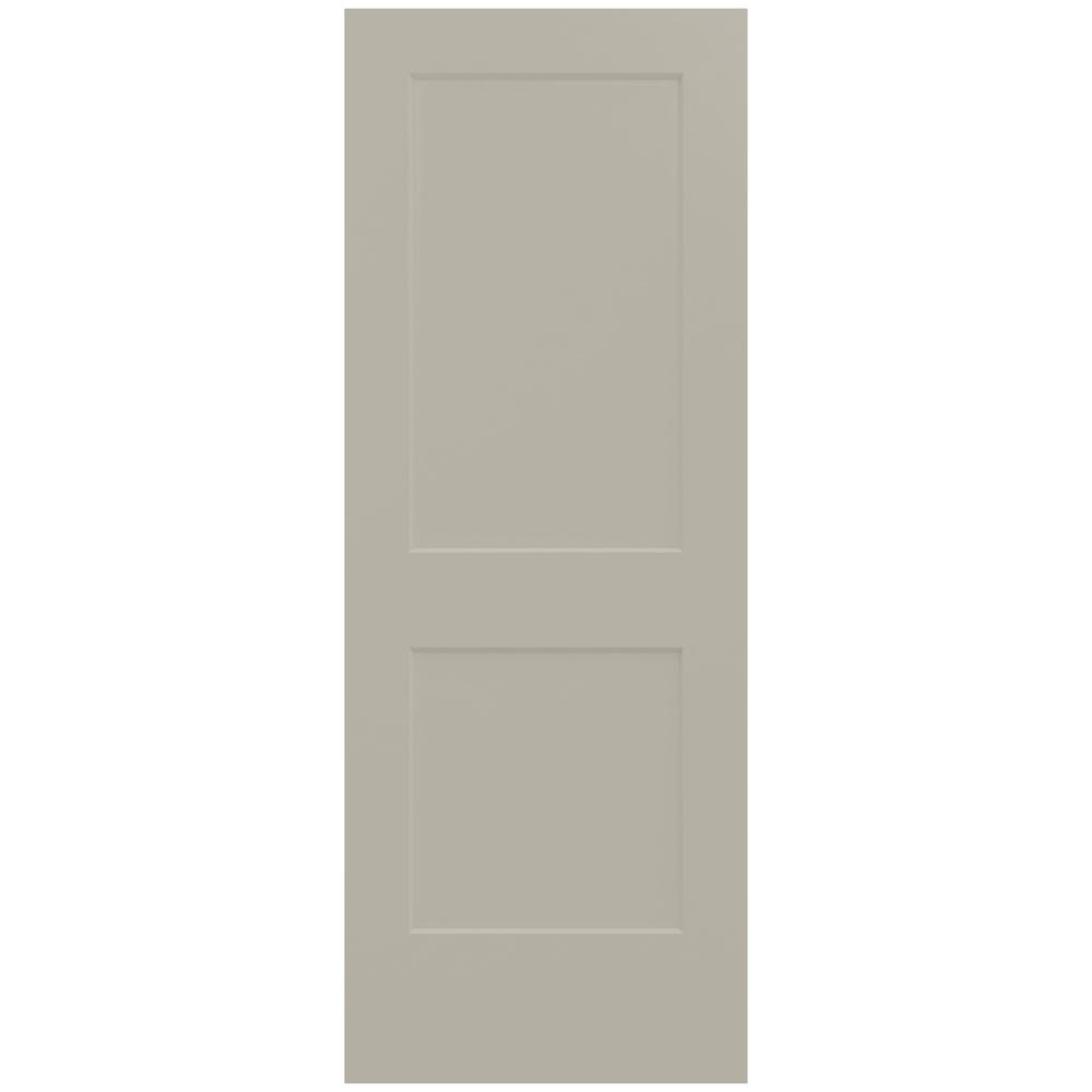 30 in. x 80 in. Monroe Desert Sand Painted Smooth Solid