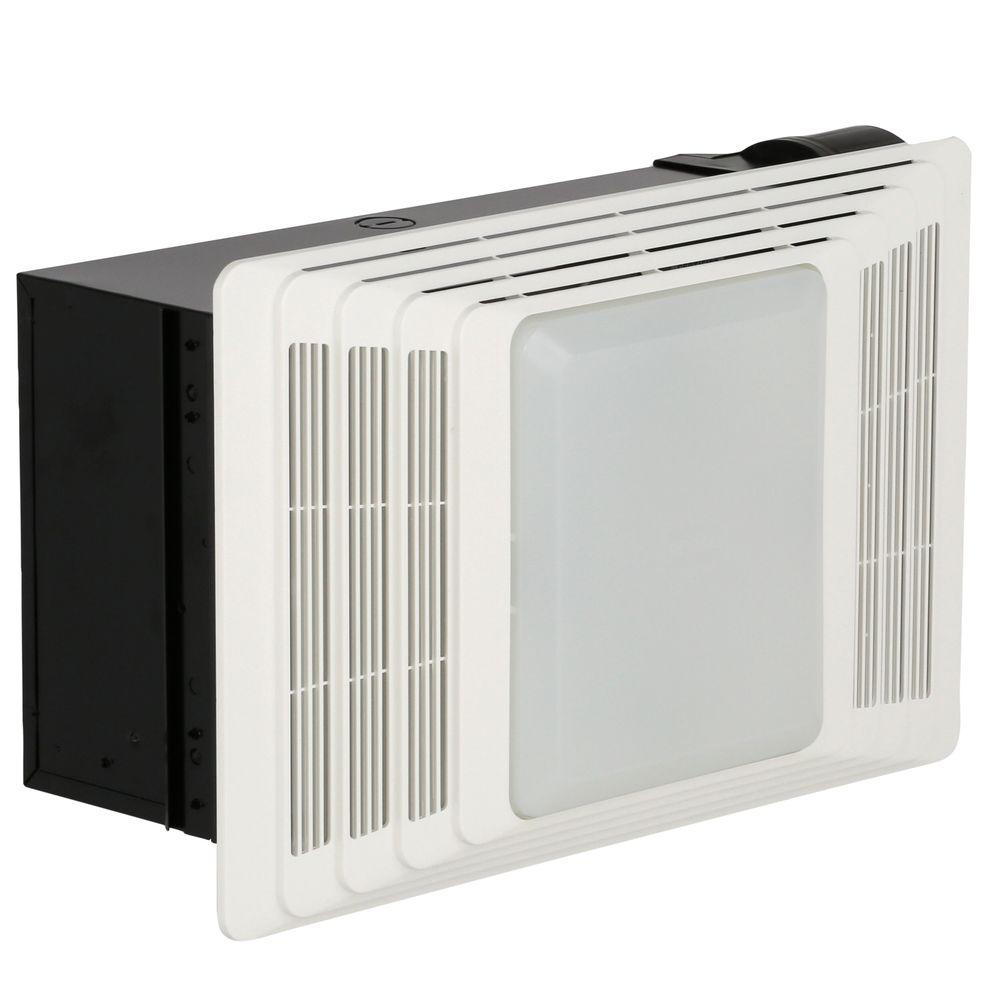 Broan-NuTone 100 CFM Ceiling Bathroom Exhaust Fan with Light