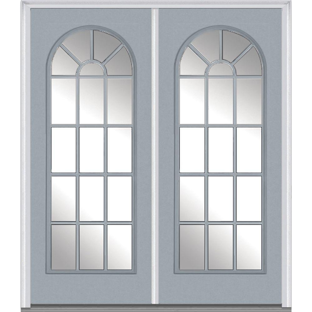 Mmi door 72 in x 80 in clear glass right hand full lite for 72 x 80 exterior door