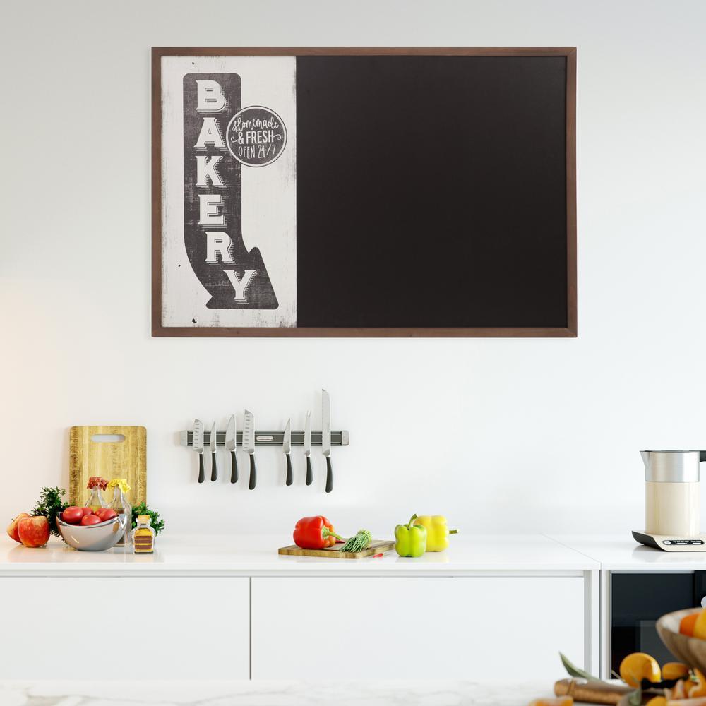 Pinnacle Patton Vintage Bakery Sign White Chalk Memo Board