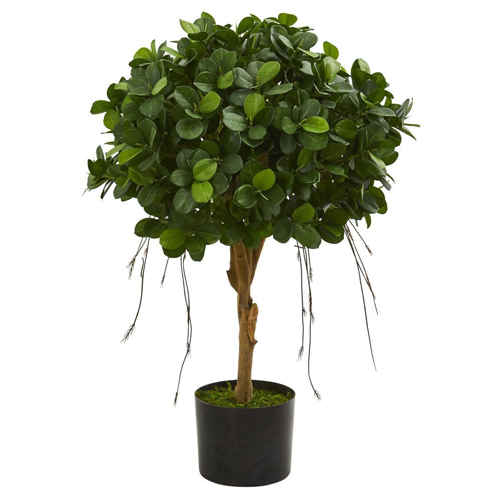 Indoor 2.5 ft. Panda Ficus Artificial Tree
