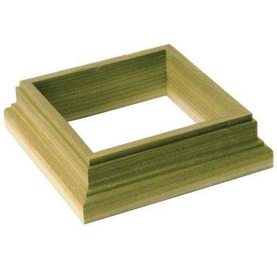 4 in. x 4 in. Pressure-Treated Wood Post Skirt