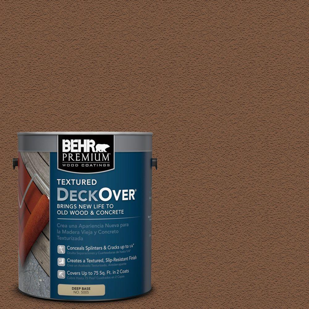 1 gal. #SC-110 Chestnut Wood and Concrete Coating