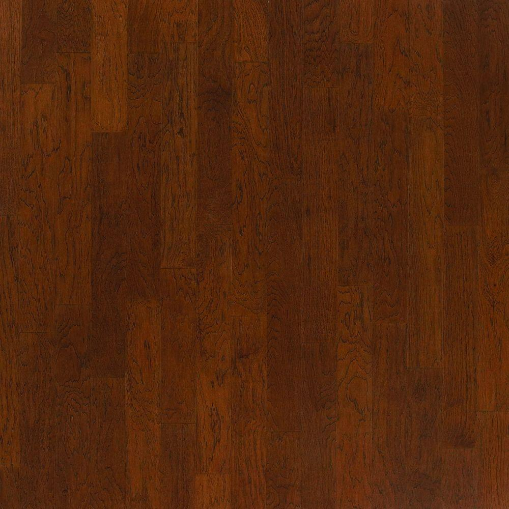 Millstead Hickory Honey 1 2 In Thick X 5 Wide Random Length Engineered Hardwood Flooring 31 Sq Ft Case Pf9543 The Home Depot