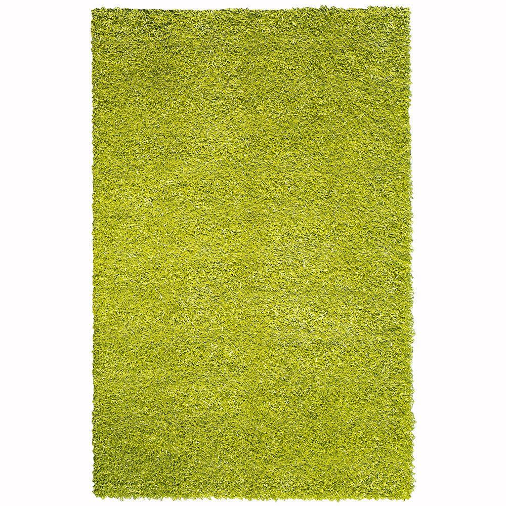 Home Decorators Collection Glitzy Lime 3 ft. 6 in. x 5 ft. 6 in. Area Rug
