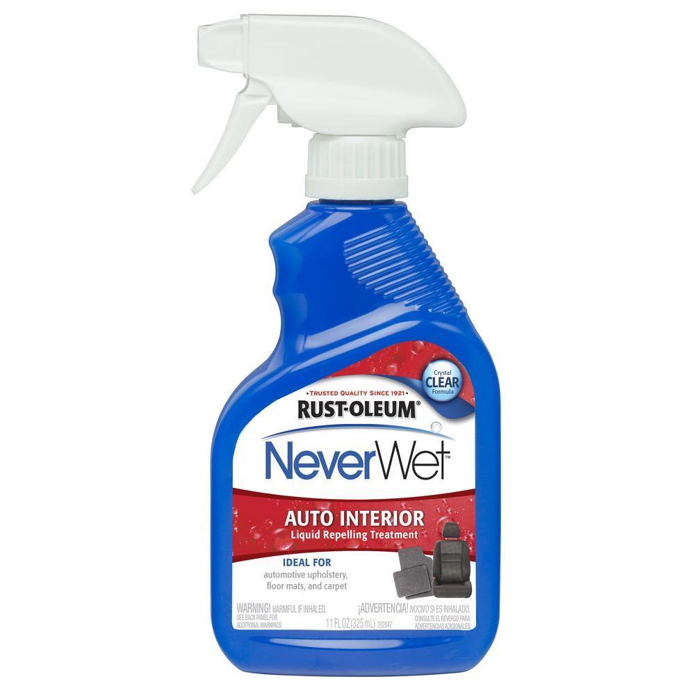 Rust-Oleum Automotive 11 oz. NeverWet Auto Interior Liquid Repelling Treatment Spray