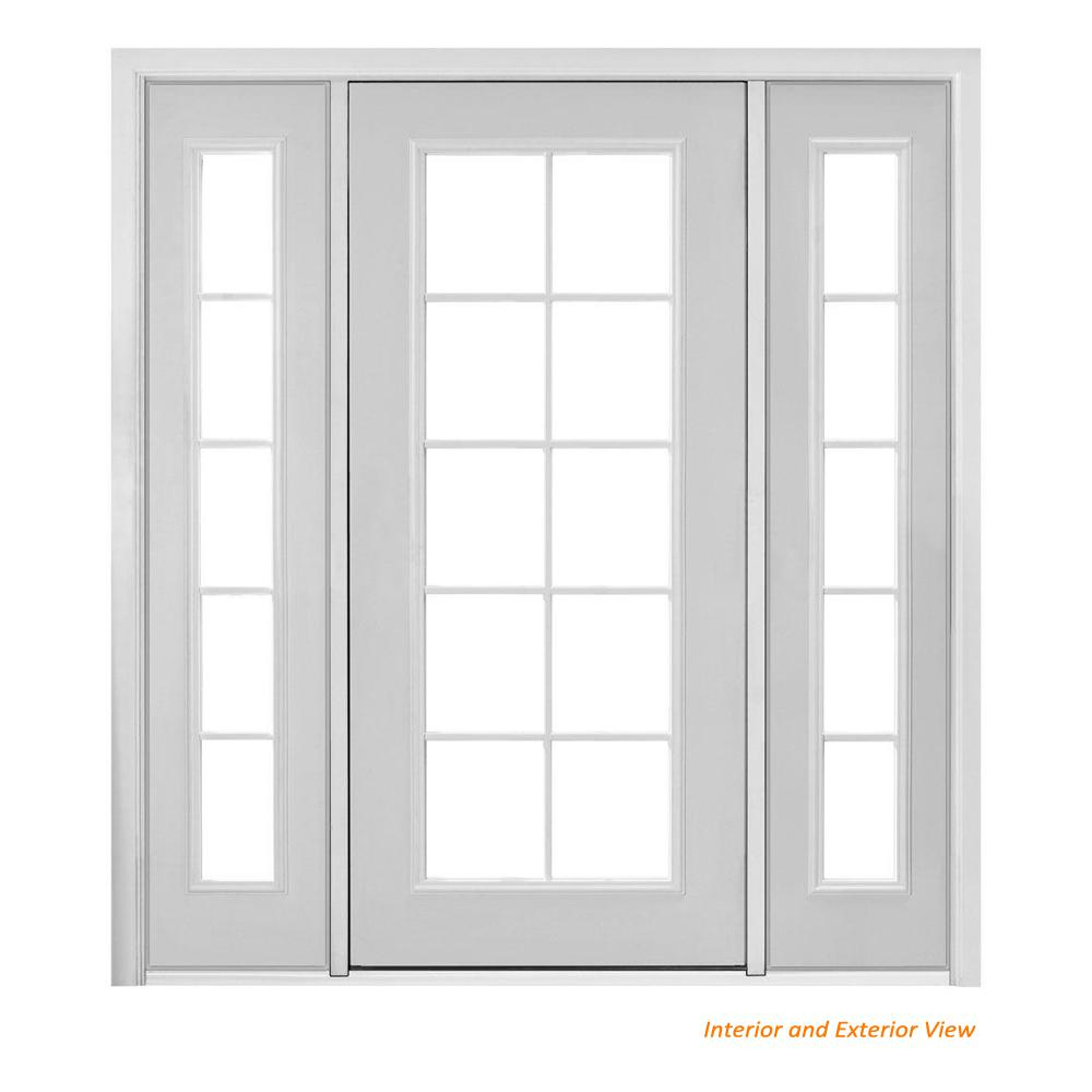 Masonite 72 in x 80 in prehung left hand inswing 10 lite - Installing prehung exterior door on concrete ...
