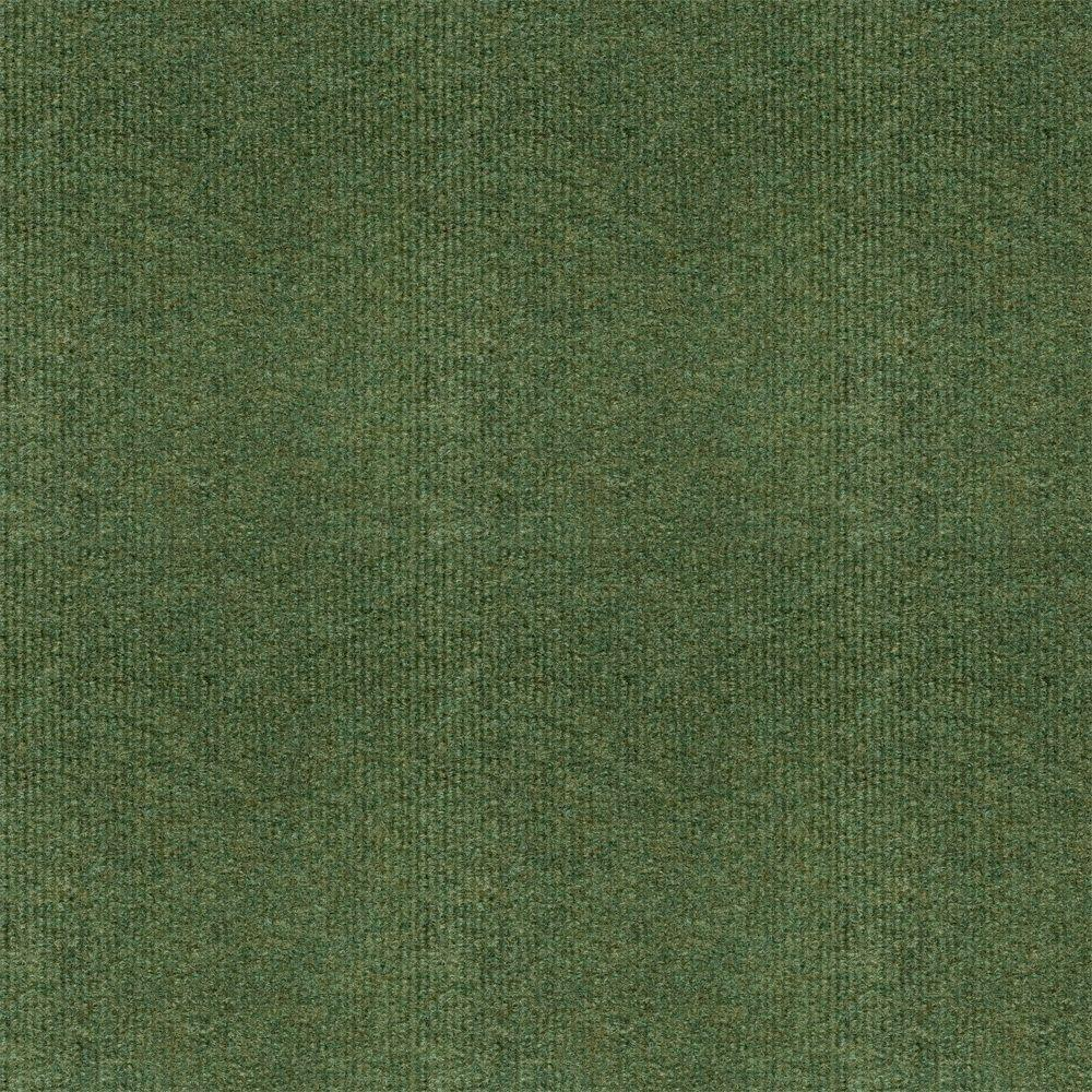 TrafficMASTER Olive Ribbed 18 in. x 18 in. Carpet Tiles (16 Tiles/Case)-DISCONTINUED