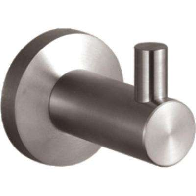Nirvana Single Robe Hook in Satin Chrome